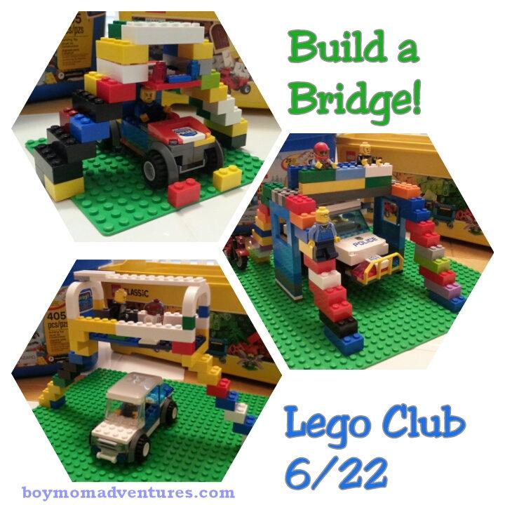 Lego Club 6-22-2017