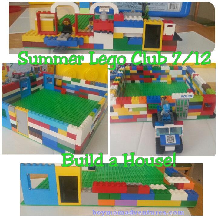 Lego Club 7-19-2017