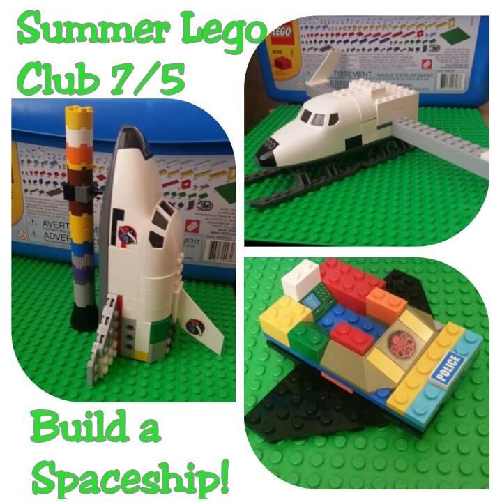Lego Club 7-5-2017
